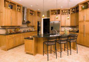 ceramic tile kitchen 300x208 - پرسلان یا سرامیک: کدام نوع کاشی برای شما در سال 2021مناسب است؟